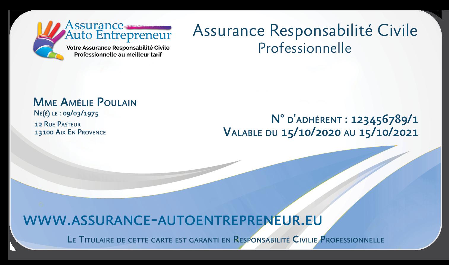 Assurance responsabilité civile Micro Entreprise