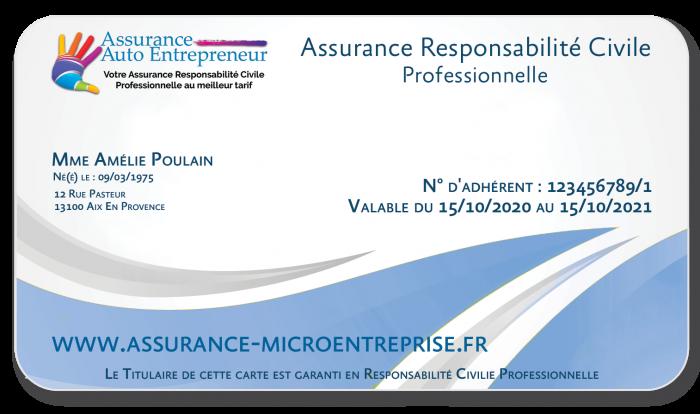 Assurance Auto Entrepreneur & Micro entreprise